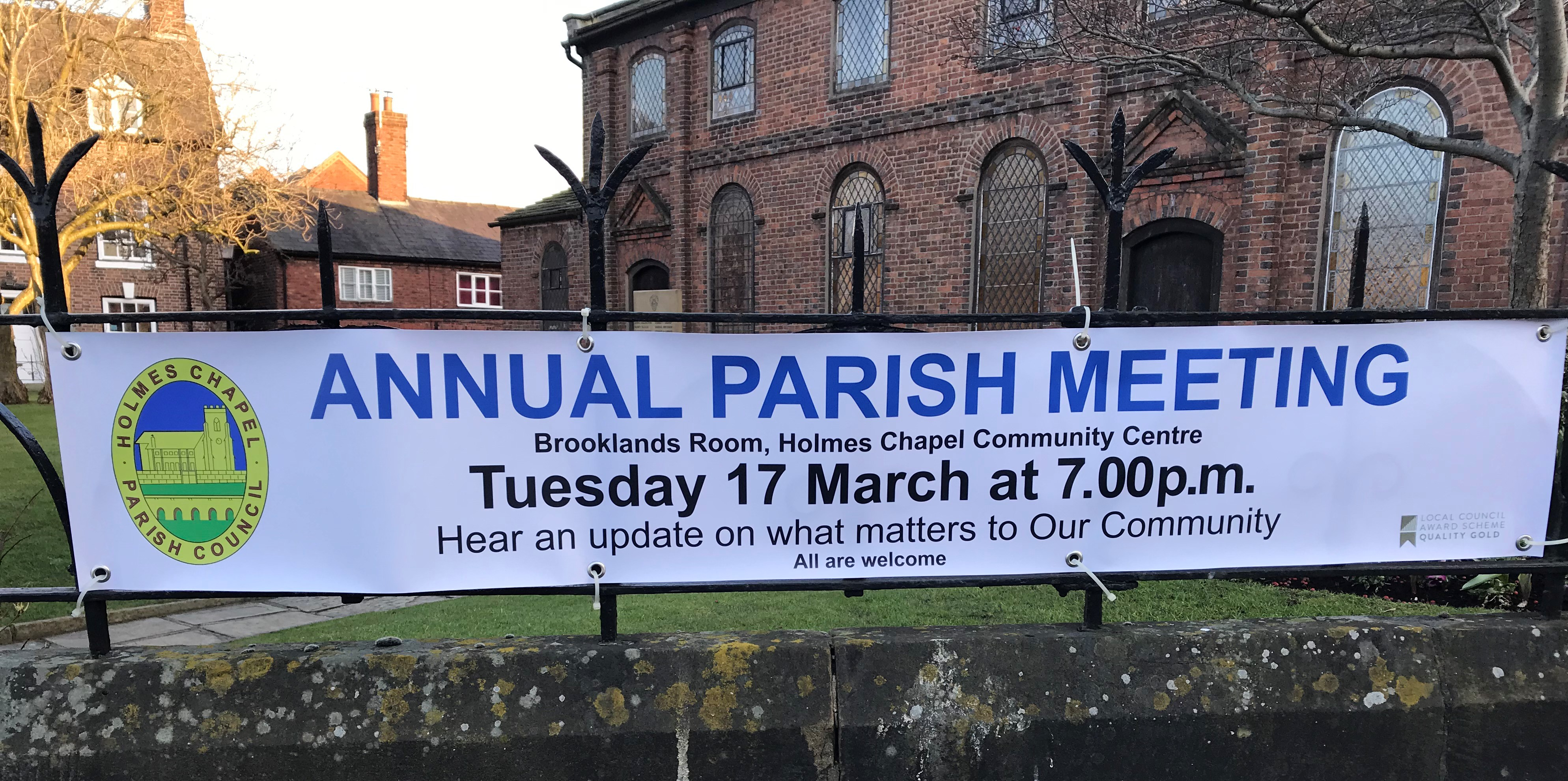 Parish Council Banner