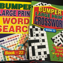 A4 Large Print Puzzle Books