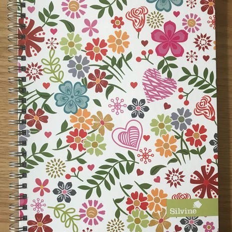 Silvine Lined Notebook B