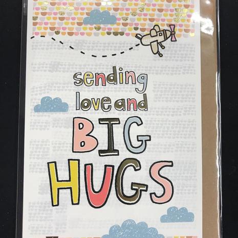 Big Hugs Card