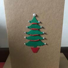 Handmade Christmas Card F