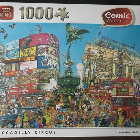 Jigsaw - Piccadilly Circus 1000 Piece