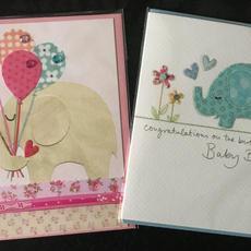 Baby Girl Baby Boy Cards