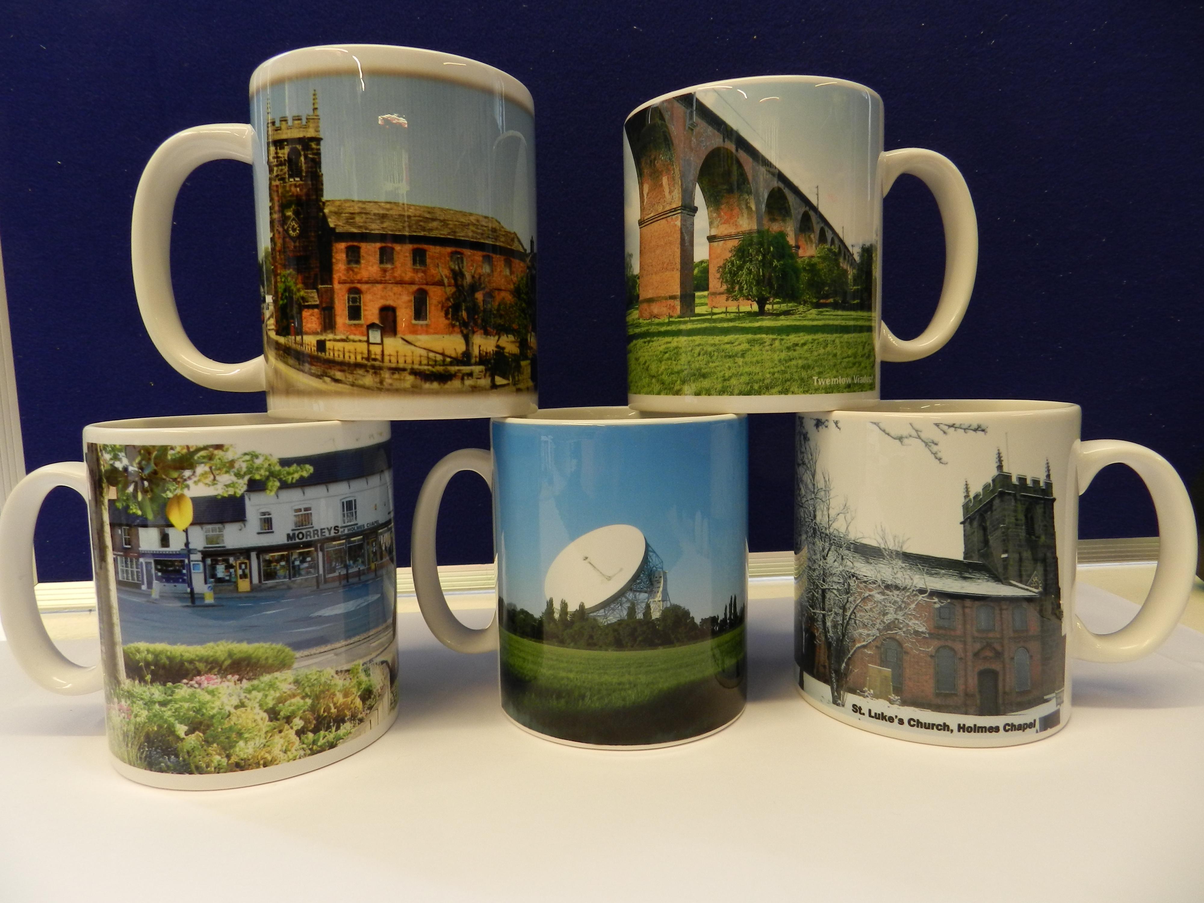 Holmes Chapel Branded Mugs