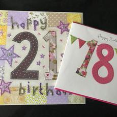 Birthday Cards 18 & 21