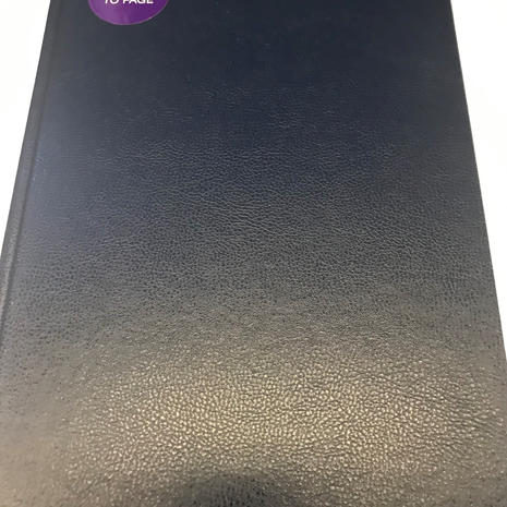 A4 Day to A Page Diary
