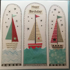 Happy Birthday Boat Card