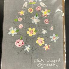 Sympathy Card - Flowers