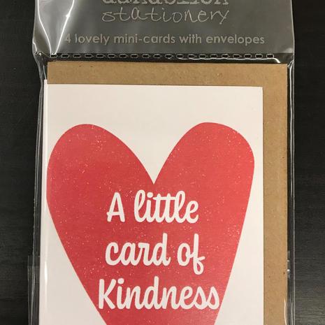 Kindness A7 Cards