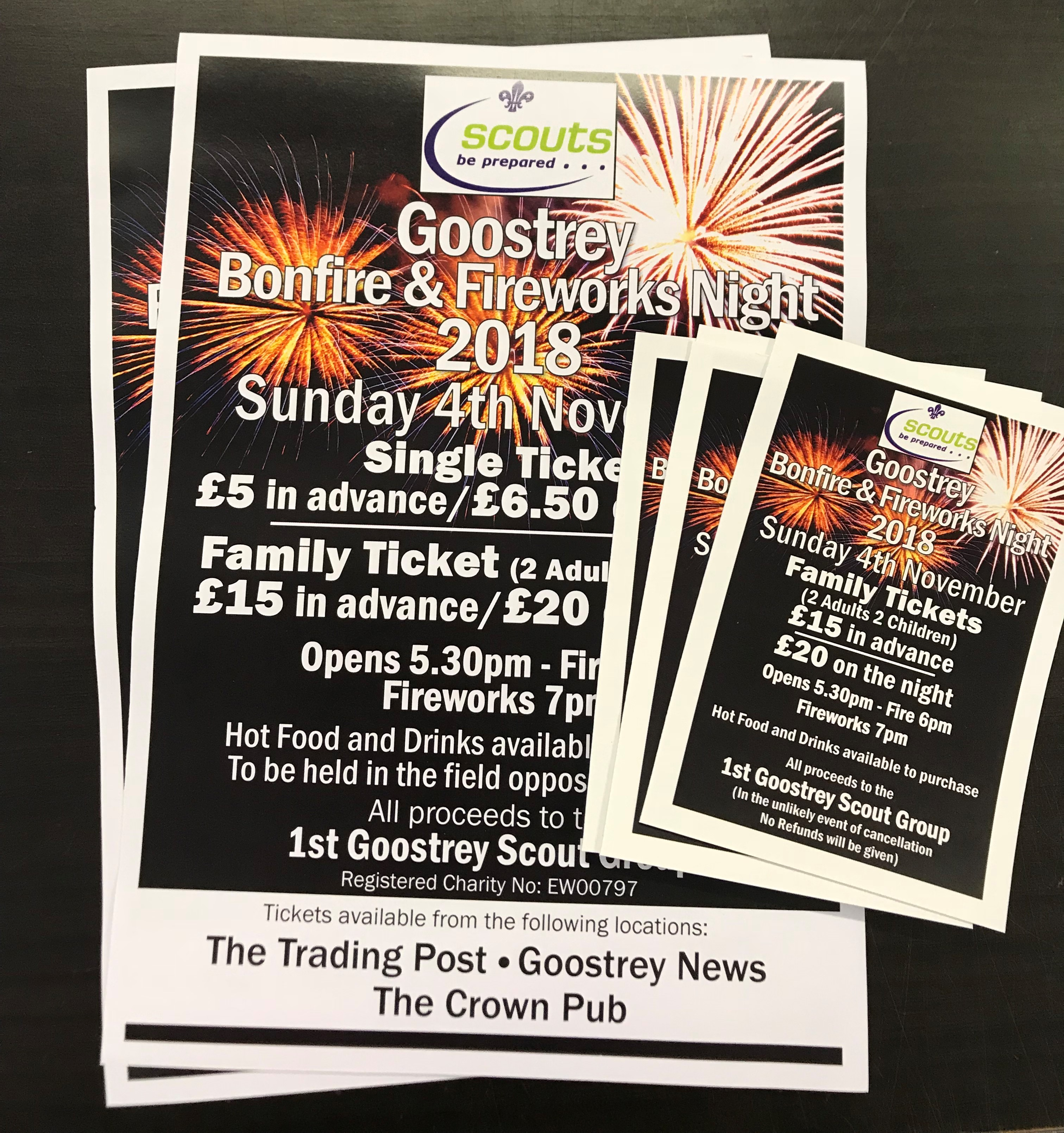 Bonfire Posters & Tickets