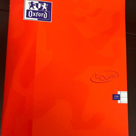 Oxford Notebook A4
