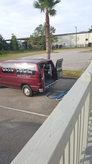 Carpet Cleaning Summerville-Truck mount