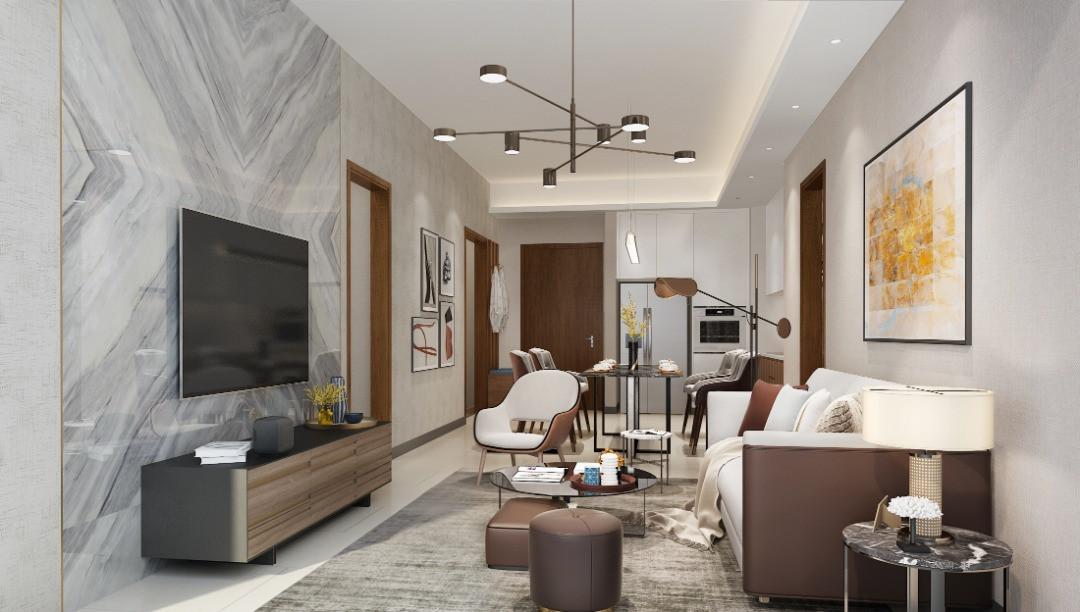 Core Residence 925sqft