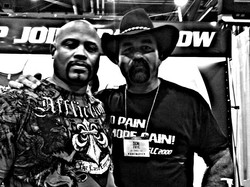 Doc muggin' with Don Frye