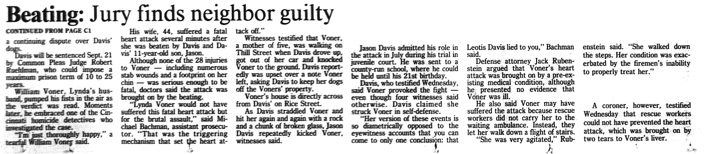 The verdict, September 1995
