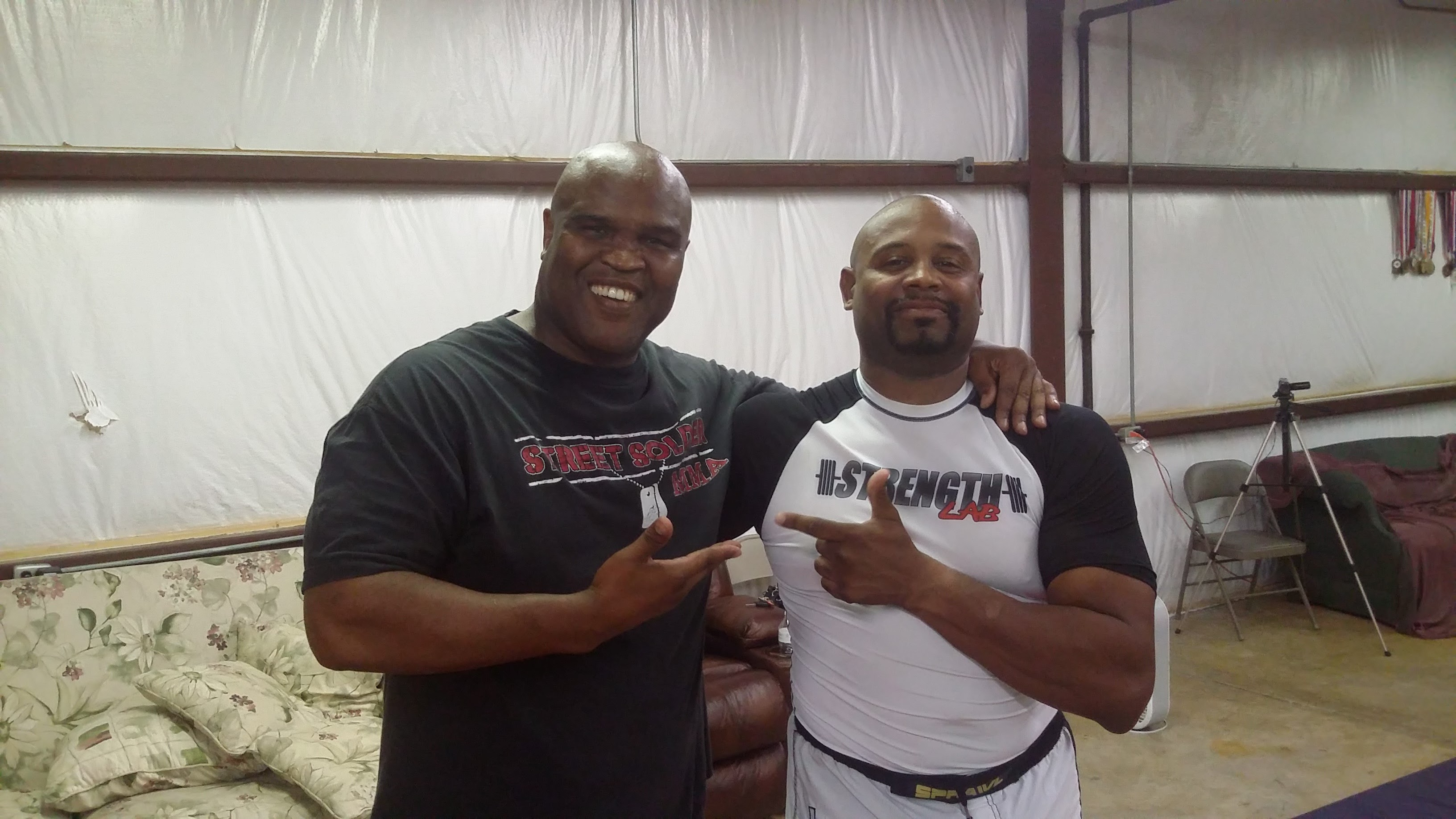 Gary Goodridge and Doc