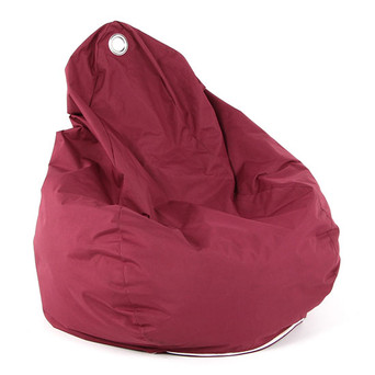 Burgundy Bean Bag $22