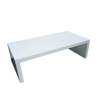 White Bank Coffee Table $50