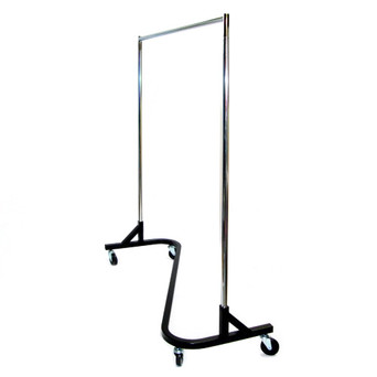 Mobile Clothes Rack $40