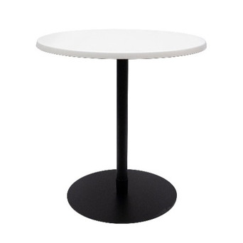 Ideal Cafe Table White / Black $50