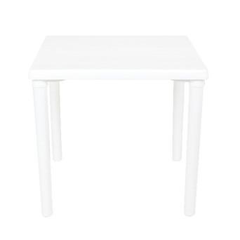 White Plastic Sq Table $15