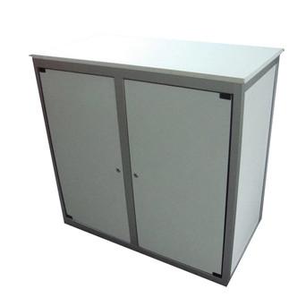 White Lockable Counter $125