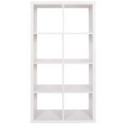 2x4 White Shelving Unit $85