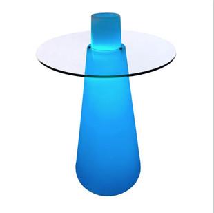 Glowing Bar Leaner