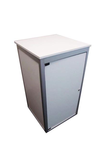 Lockable Exhibition cupboard / counter