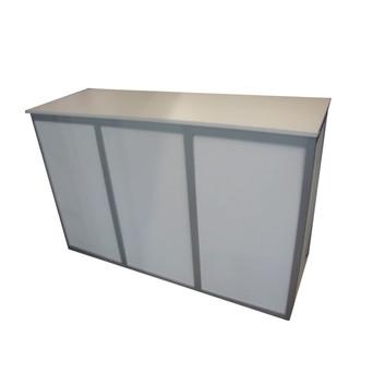 White Lockable Counter $180