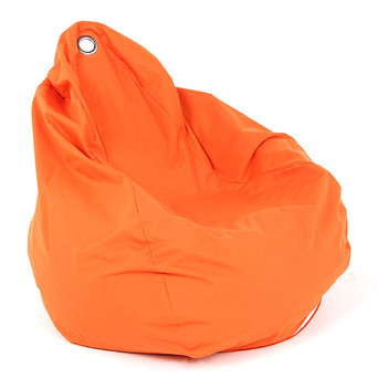 Orange Bean Bag $22