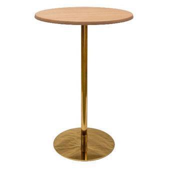 Ideal Bar Leaner Gold / Woodgrain $60