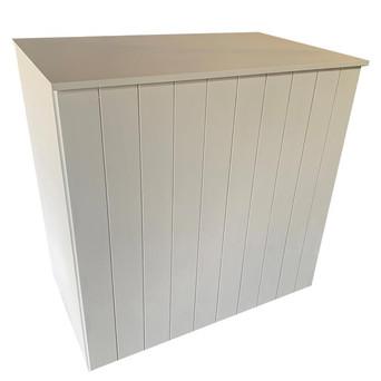 White Wooden Bar $140