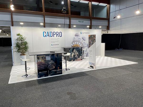 Cadpro stand design