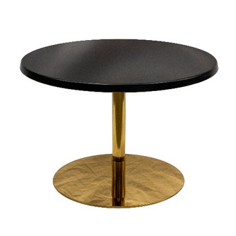 Ideal Coffee Table Black / Gold $45