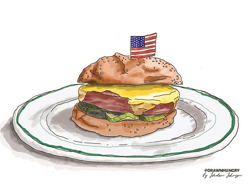 Iconic Portland Series: Fried Bologna Sandwich, Woodsman Tavern