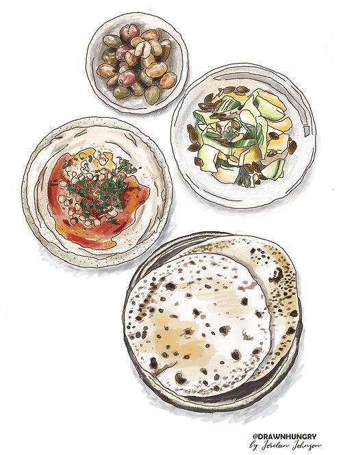 Iconic Portland Series: Hummus & Flatbread, Tusk
