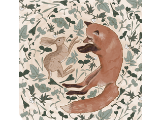 Logo design for Fox and Hare Photography