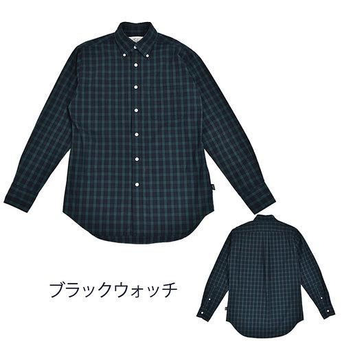 ブラックウォッチ柄ボタンダウンシャツ/メンズ