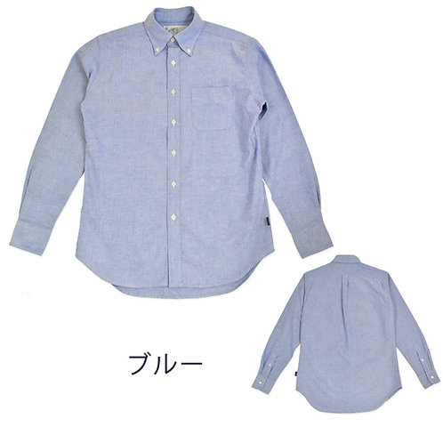 オックスフォードボタンダウンシャツ/メンズ