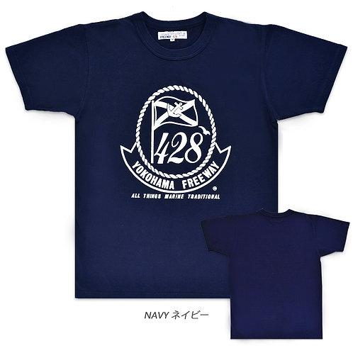 """""""フリーウェイ428""""ビッグプリントTシャツ"""