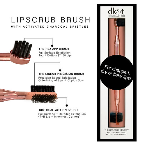 The Lip Scrub Brush By DK&T