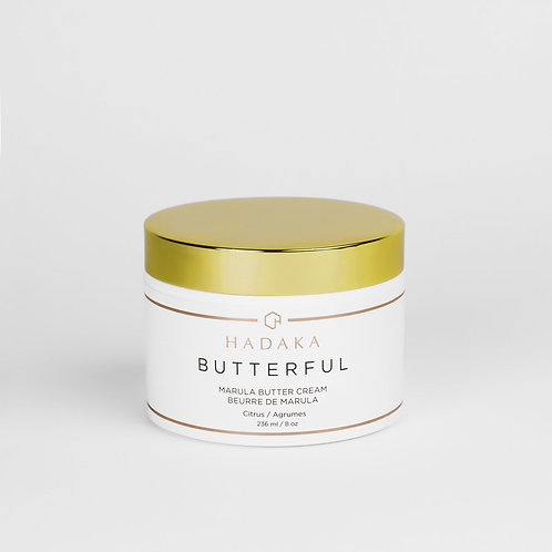 HADAKA BUTTERFUL Marula Butter Cream Citrus