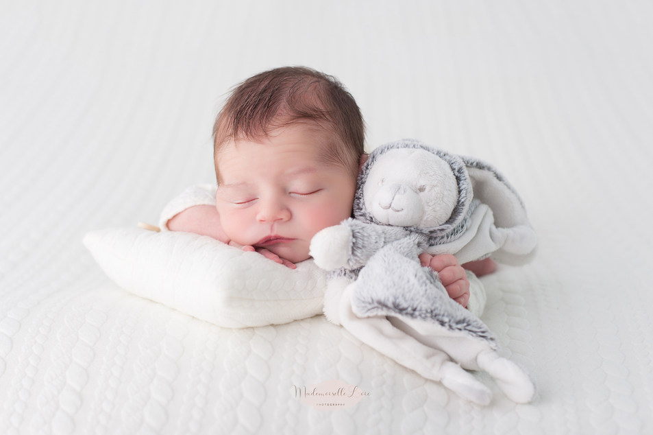 studio photo naissance bébé