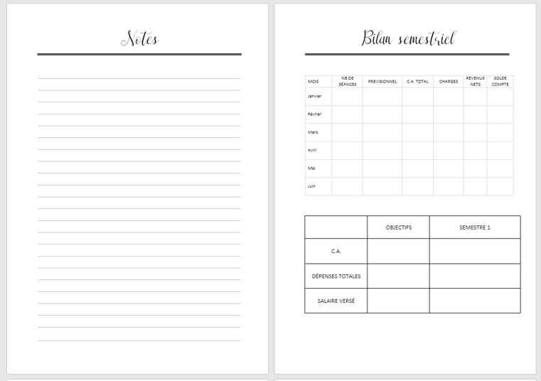 planner pro perso photographes