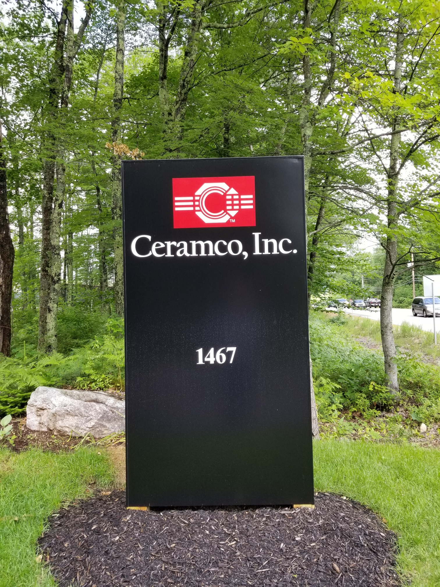 Ceramco maine sign photo