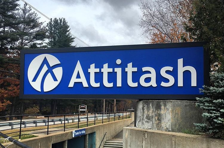 Attitash Main Sign