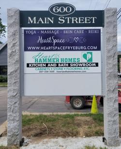 600 Main Street Sign