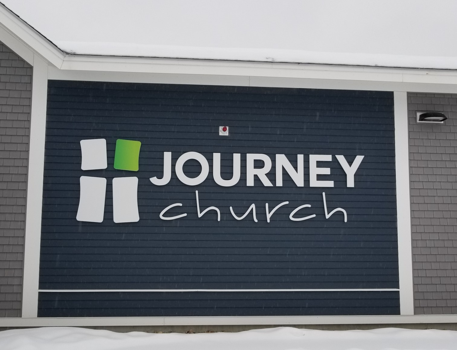 Journey Curch in winter