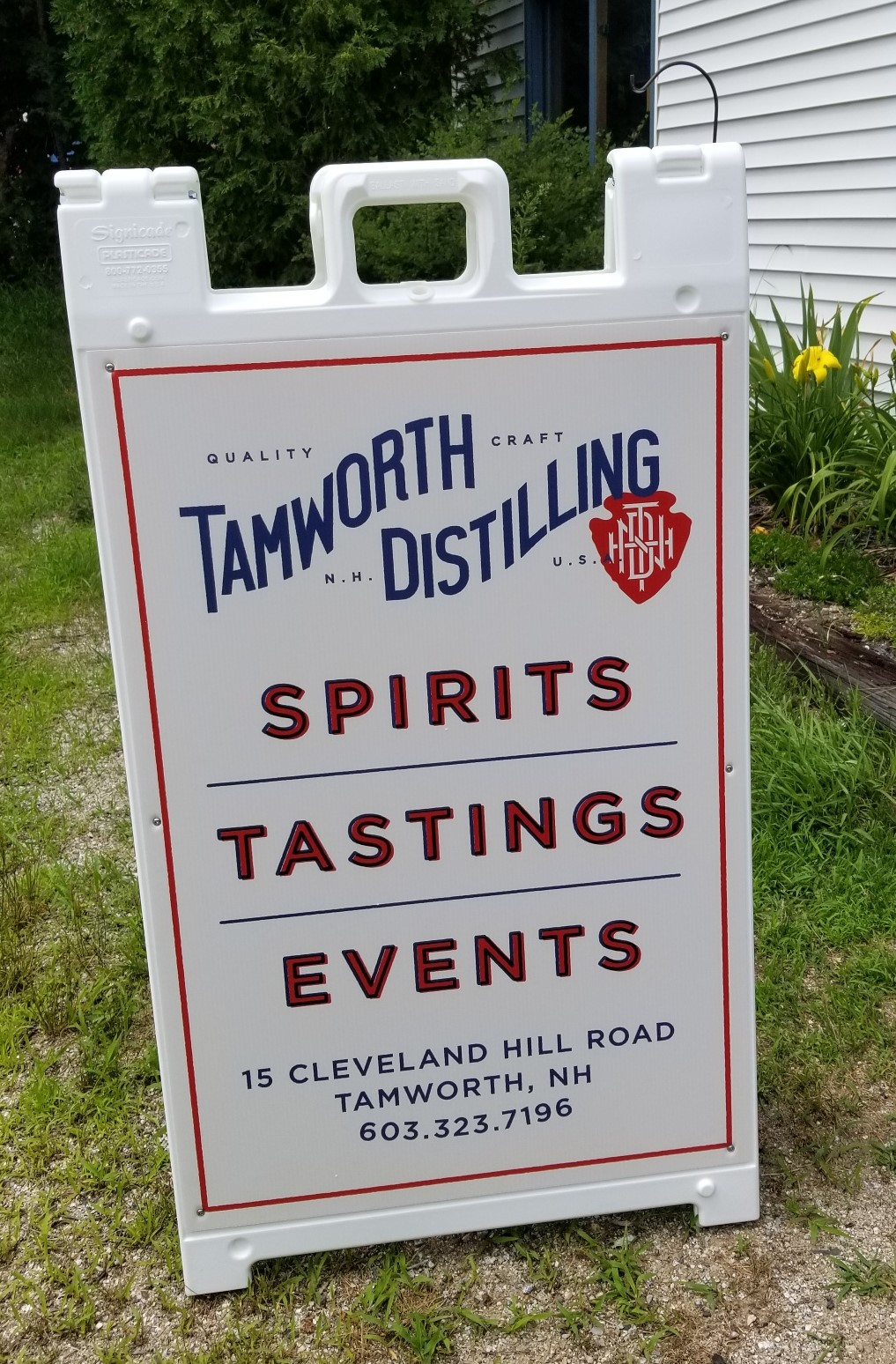 Tamworth Distilling aframe photo